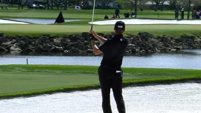 Jimmy Walker's impressive approach leads to birdie at Arnold Palmer