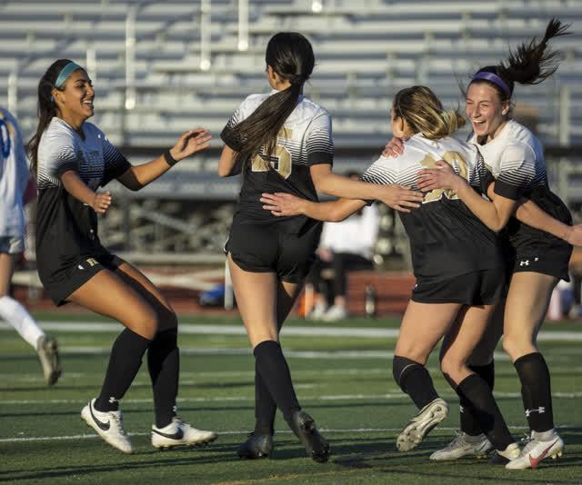 Las Vegas Review Journal Sports | Faith Lutheran girls' soccer beats Bishop Gorman, 1-0