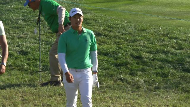 Today's Top Plays: Danny Lee's incredible birdie hole-out for the Shot of the Day