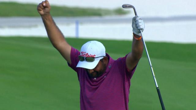 José de Jesús Rodríguez's solid eagle approach at the Great Exuma