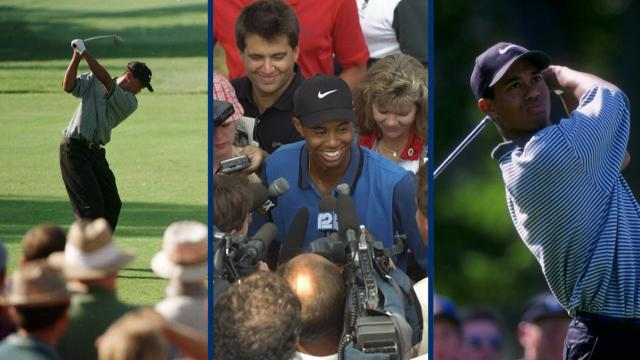 Reliving Tiger Woods' professional debut in 1996