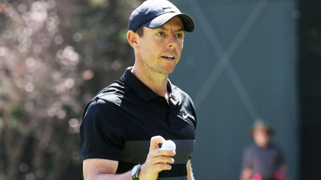 Rory McIlroy leads after 18 at WGC-Mexico
