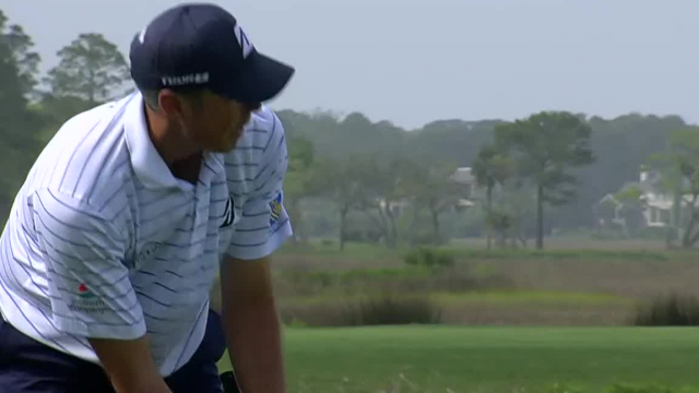 Matt Kuchar drains 20-footer for birdie at RBC Heritage