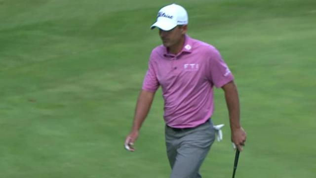 Charles Howell III's lengthy birdie putt at WGC-Mexico