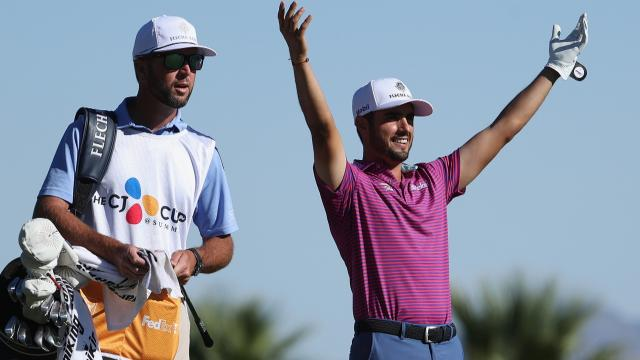 Ancer's albatross, Niemann's unreal hole-out and DJ's albatross hits the flagstick