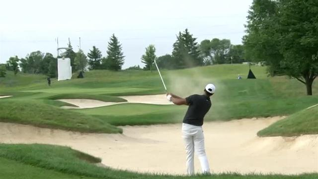 Tony Finau makes birdie on No. 11 at 3M