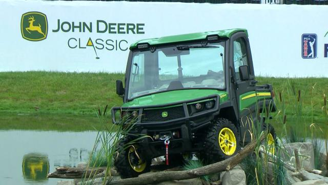 Tringale, Landry share the 54-hole lead at John Deere