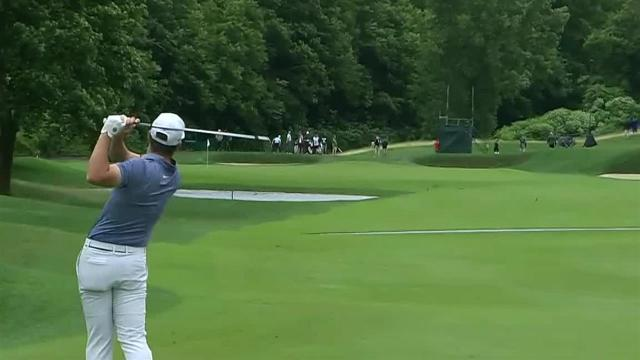 Matthew Wolff reaches in two to set up birdie at Travelers