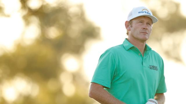 Brandt Snedeker leads by two after 18 at Vivint Houston Open