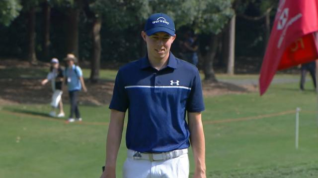 Matthew Fitzpatrick's clutch par save at WGC-HSBC Champions