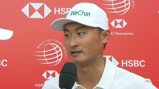 Haotong Li's interview after Round 1 of WGC-HSBC Champions