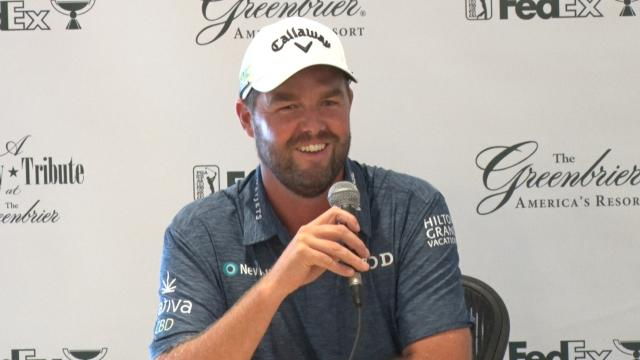 Marc Leishman with something to prove before The Greenbrier