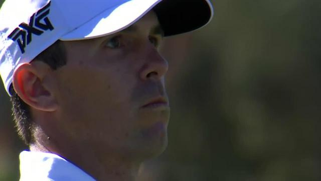 Billy Horschel's approach to 4 feet leads to birdie at Waste Management