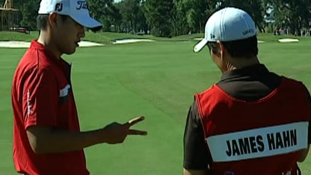 Strategy via rock-paper-scissors: James Hahn at 2010 Korn Ferry Tour Championship