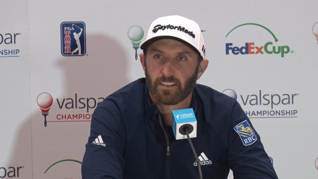 Dustin Johnson returns to Innisbrooke before Valspar