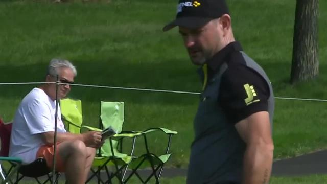 Rory Sabbatini birdies No. 7 at the Memorial