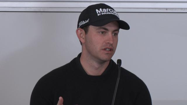 Patrick Cantlay on coming back before the AT&T Pebble Beach
