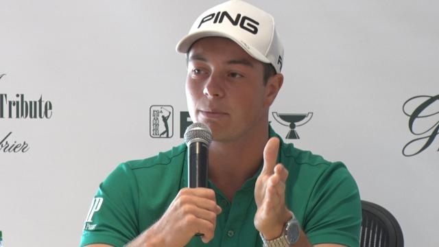 Viktor Hovland improving before The Greenbrier