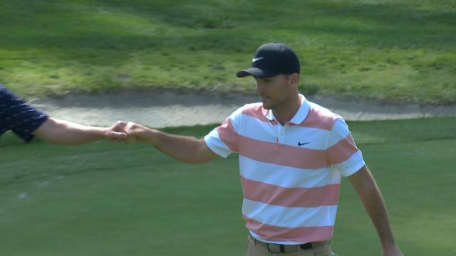 Today's Top Plays: Russell Henley drains long eagle putt for Shot of the Day