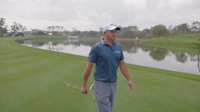 Sam Saunders recreates memorable shots at THE PLAYERS