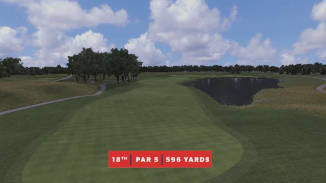 TPC Twin Cities – Hole No. 18