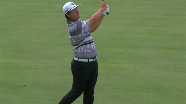 Sungjae Im birdies No. 3 at Arnold Palmer