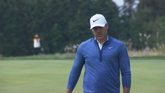 Brooks Koepka cards birdie at No. 11 at THE CJ CUP