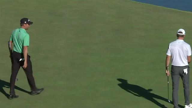 Webb Simpson's 28-foot birdie putt at Shriners