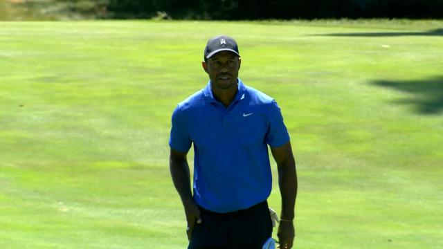 FedExCup Playoffs Begin, 4 Lead at -7, Tiger Shoots 68