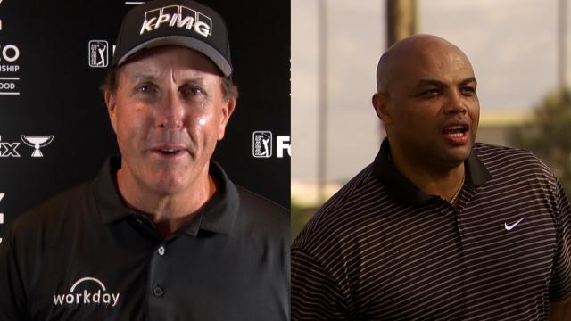 PGA TOUR | Phil Mickelson comments on Charles Barkley's golf swing