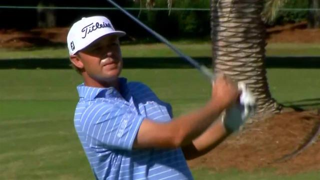 Patton Kizzire uses strong approach to set up birdie at The RSM Classic