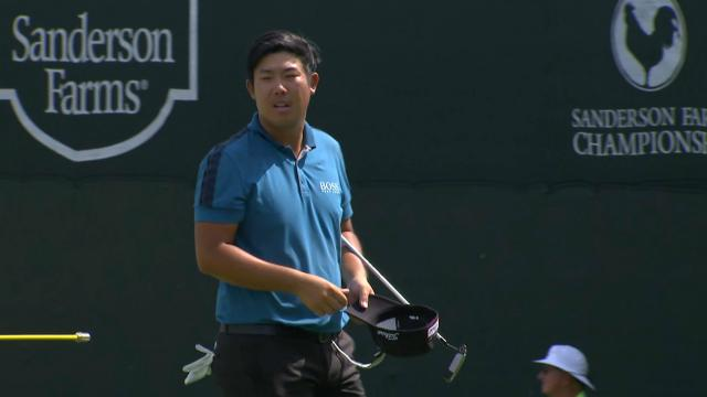 Byeong Hun An jumps up to take clubhouse lead at Sanderson Farms