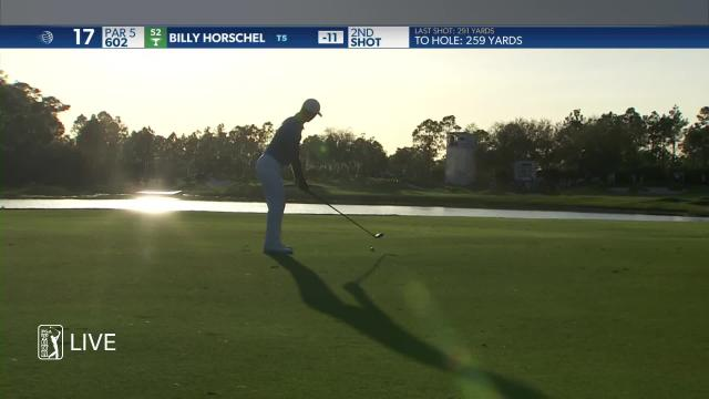 Billy Horschel's impressive second leads to eagle at WGC-Workday
