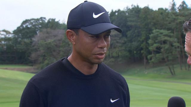 Tiger Woods' interview after Round 1 of ZOZO