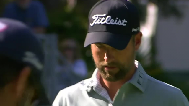 Webb Simpson holes birdie putt on No. 15 at RBC Heritage