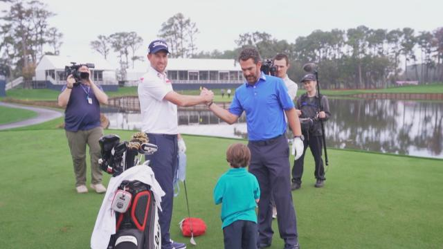 Webb Simpson returns to TPC Sawgrass ahead of THE PLAYERS