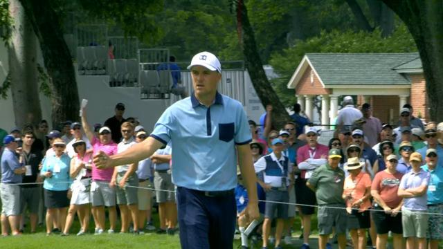 Jordan Spieth's Round 1 highlights from Charles Schwab
