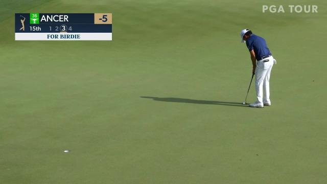 Abraham Ancer's 15-footer for birdie at THE PLAYERS