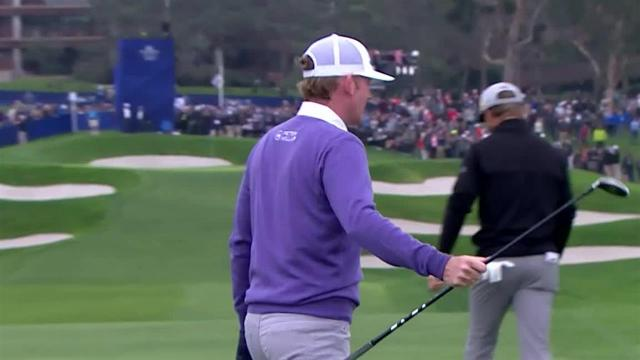 Brandt Snedeker nearly cards albatross at No. 13 at Farmers