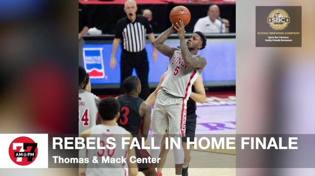 Las Vegas Review Journal Sports | San Diego State whips UNLV, wins Mountain West title
