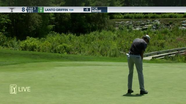 Lanto Griffin birdies No. 8 in Round 2 at THE NORTHERN TRUST