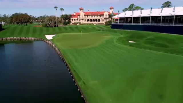 Pete Dye's vision for Nos. 16, 17 and 18 at TPC Sawgrass
