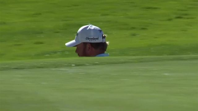 J.B. Holmes gets up-and-down for birdie at Genesis
