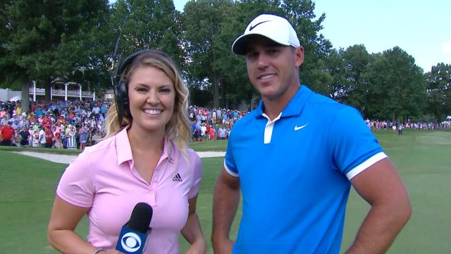 Brooks Koepka's interview after winning WGC-FedEx St. Jude