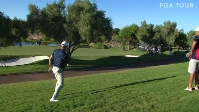 PGA TOUR | Martin Laird cards clutch par save at Shriners