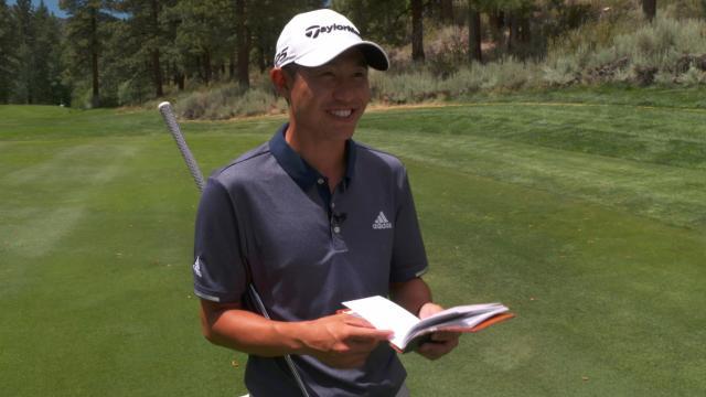 Collin Morikawa's one-club challenge at Barracuda