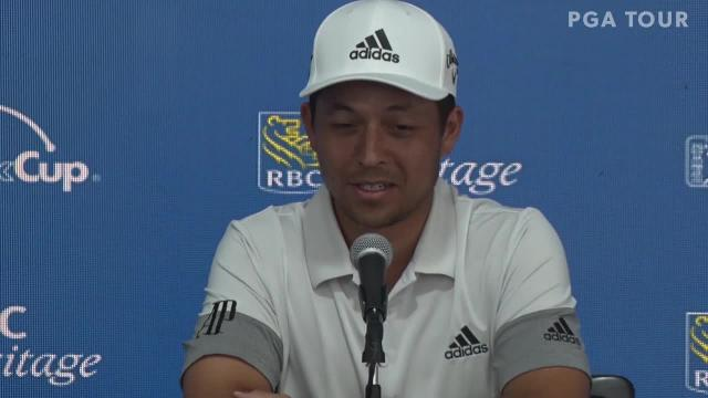 Xander Schauffele comments on 2019 Masters before RBC Heritage