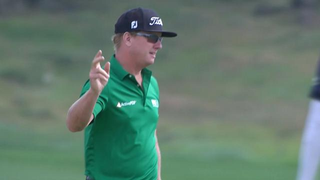 Charley Hoffman close Round 1 with eagle at THE CJ CUP
