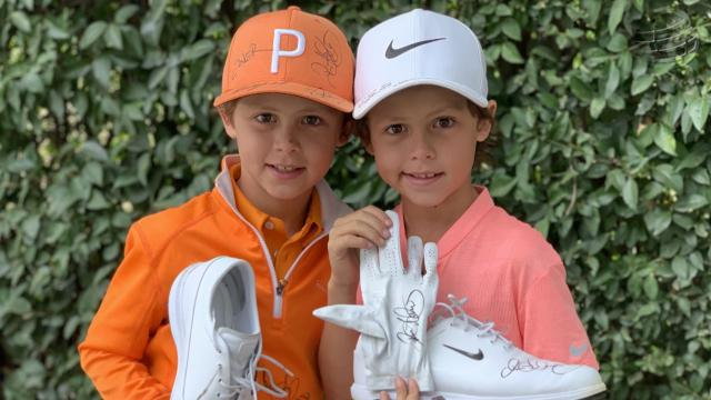 Rory McIlroy consoles young fan at WGC-Mexico