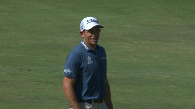 Today's Top Plays: Scott Stallings' eagle hole out leads Shots of the Week